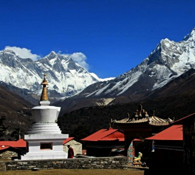 Everest Region Trekking Map and complete Guide
