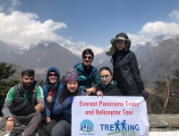 Group Picture of Himalayas for Breakfast tour