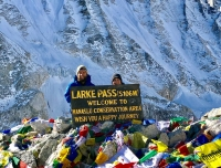 Larke Pass in Manaslu