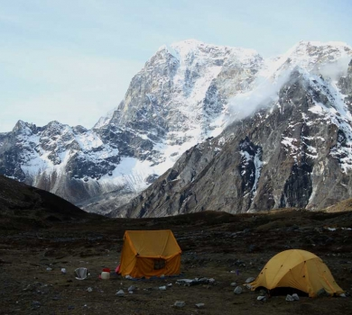 Everest Base Camp with Lobuche Peak Climbing
