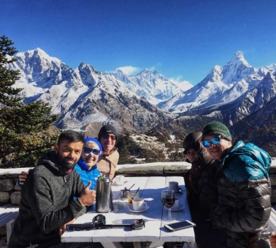 Himalayas for Breakfast